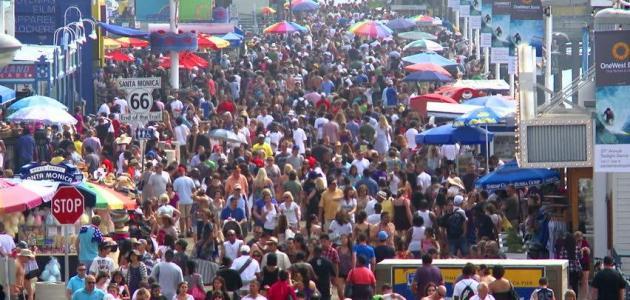 عدد سكان الولايات المتحدة