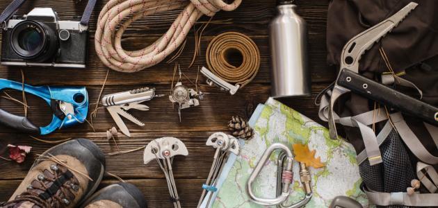 أدوات تسلق الجبال - موضوع