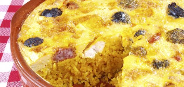 طريقة عمل الأرز في الفرن