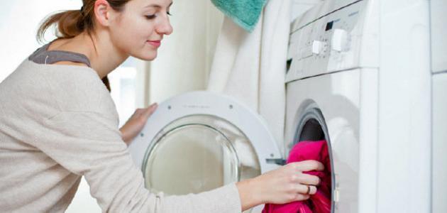 طريقة غسيل الملابس
