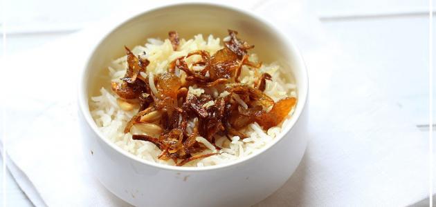 طريقة كشنة الأرز