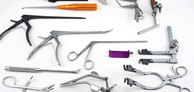 أدوات الجراحة - موضوع