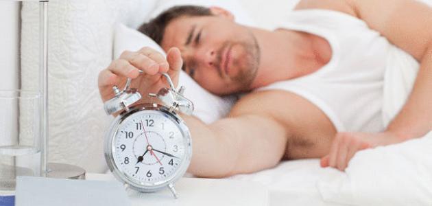 آثار قلة النوم
