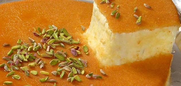 طريقة عمل الكنافة بالجبنة والقشطة