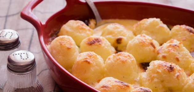 طريقة صينية كرات البطاطا بالدجاج