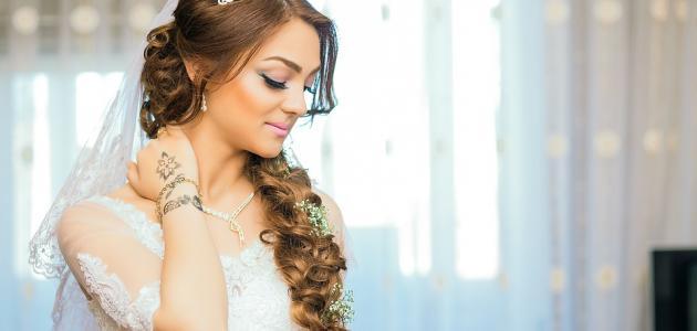 طريقة مكياج العروس