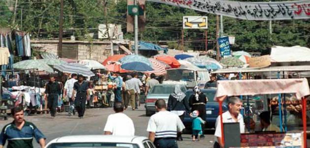 عدد سكان مخيم اليرموك
