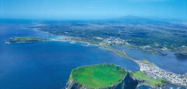 جزيرة جيجو الكورية