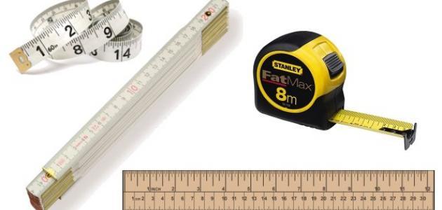 أدوات القياس واستخداماتها