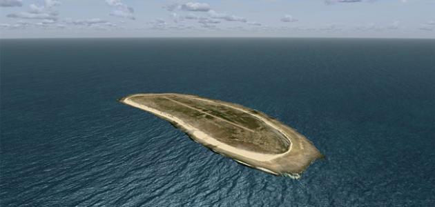 جزيرة في المحيط الهادي