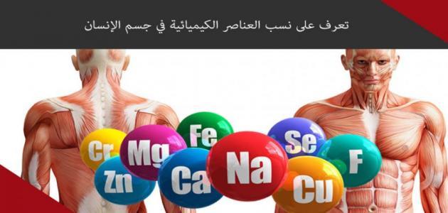 العناصر الكيميائية في جسم الإنسان _الكيميائية_في_جسم_الإنسان