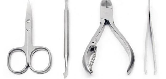 أدوات الأظافر وكيفية استخدامها