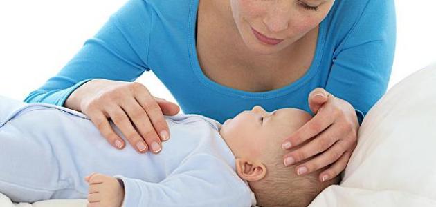 ارتفاع درجة حرارة الطفل الرضيع
