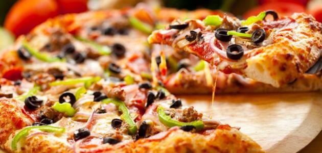 طريقة تحضير البيتزا الجزائرية