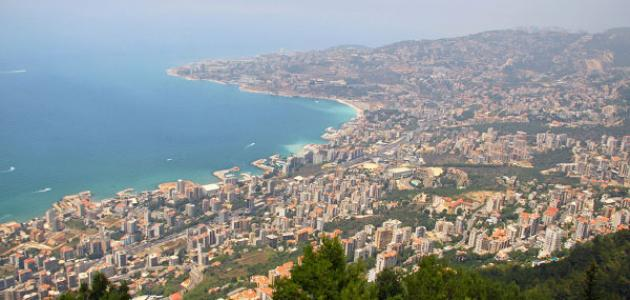 الطبيعة في لبنان