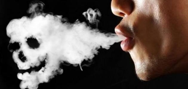 آثار التدخين على الصحة