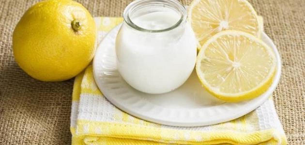 فوائد الزبادي مع الليمون