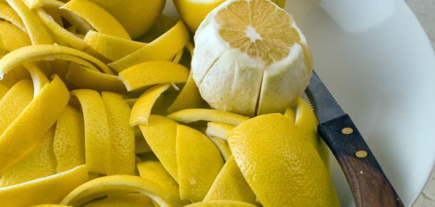 فوائد قشر الليمون للتخسيس
