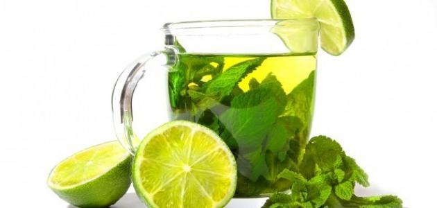 فوائد الشاي الأخضر مع الليمون للتنحيف