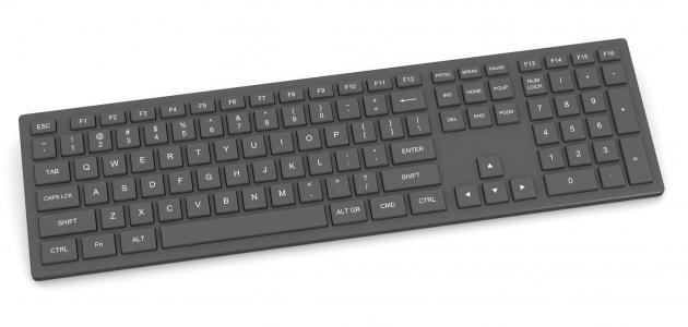 تعريف لوحة المفاتيح للكمبيوتر