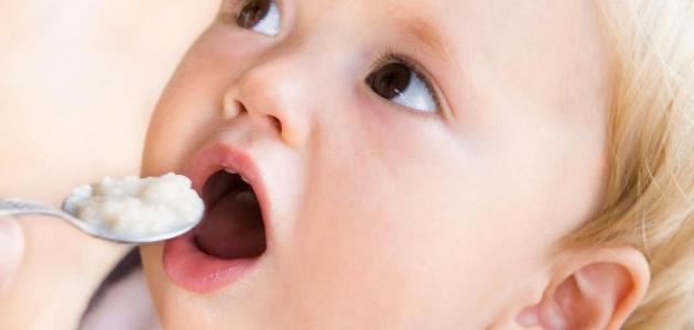 جدول تغذية الطفل