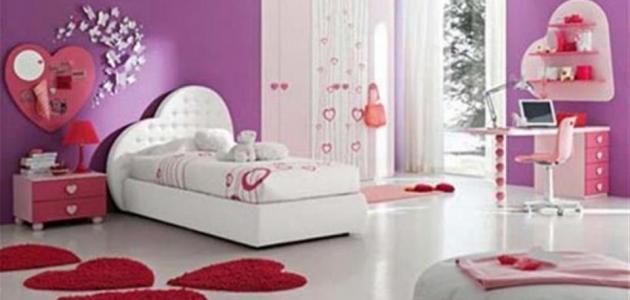 أفكار لتزيين غرف البنات   موضوع