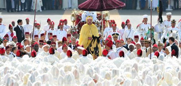 عيد العرش المغربي