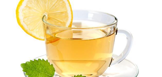 فوائد الشاي الأخضر بالليمون للرجيم