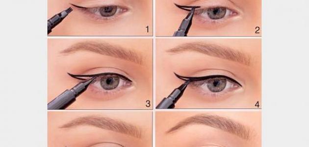 f7ddfaa22 خطوات رسم العين - موضوع