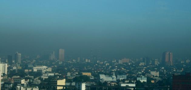 حلول تلوث الهواء