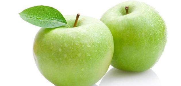 فوائد التفاح قبل النوم