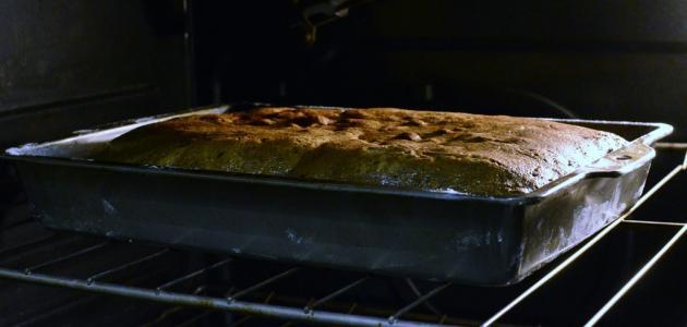 طريقة خبز الكيك