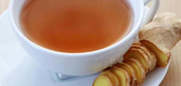 كيفية عمل شاي الزنجبيل