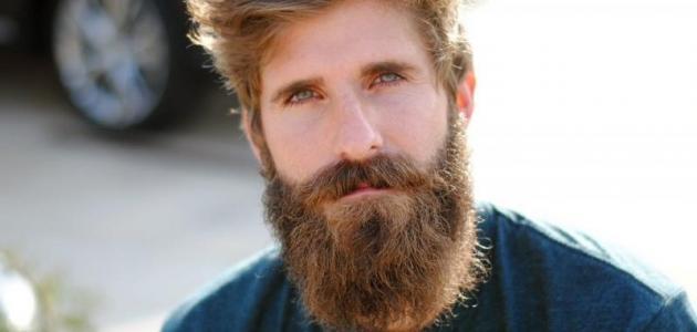 زيادة كثافة شعر الذقن