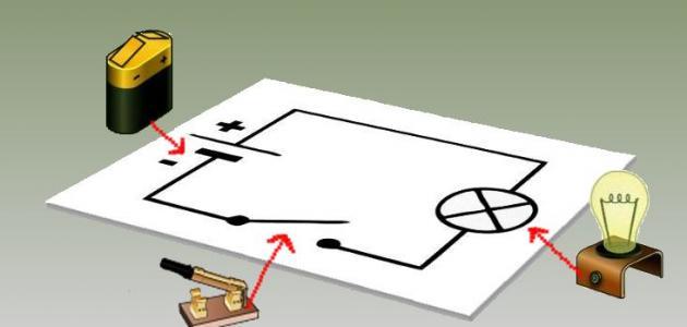 كيفية عمل دارة كهربائية