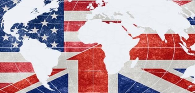الدول التي تتكلم الإنجليزية