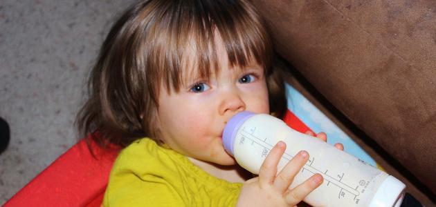 حليب الصويا للأطفال