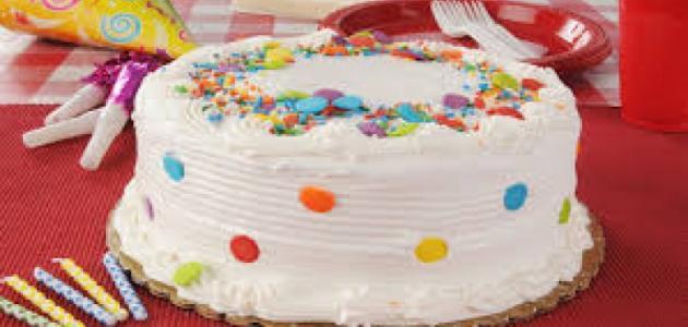 كعكة عيد ميلاد للأطفال