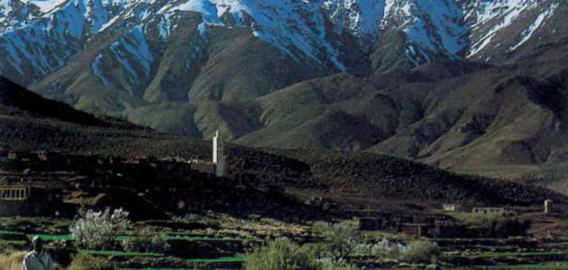 طول سلسلة جبال الأطلس