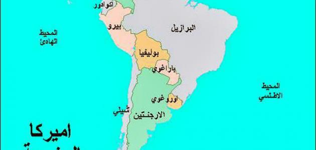 دول أمريكا الجنوبية والشمالية