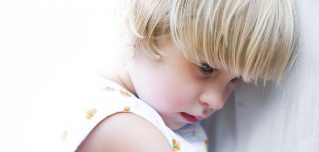 بحث عن الخجل عند الأطفال