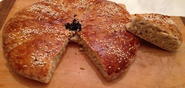 طريقة عمل خبز رمضان