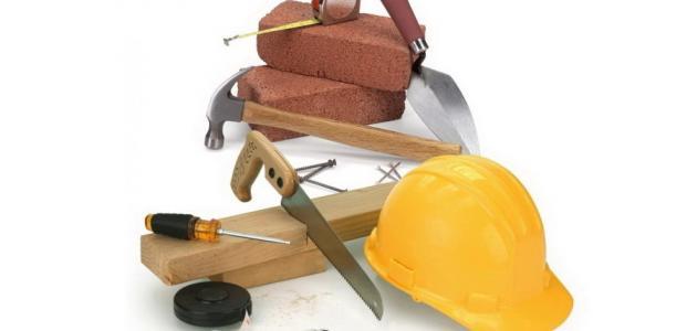 أدوات البناء اليدوية