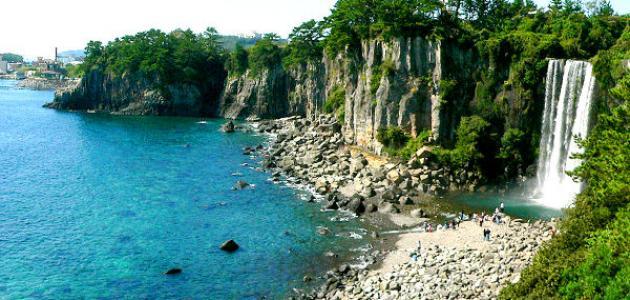 جزيرة جيجو في كوريا