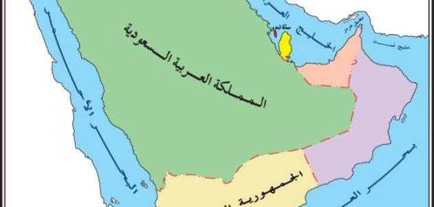 دول الجزيرة العربية موضوع