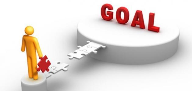 خطوات تحقيق الهدف