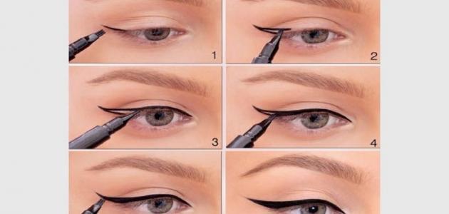 كيفية وضع مكياج العيون للمبتدئين