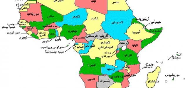 دول أفريقيا وعدد سكانها