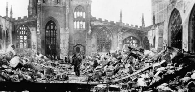 الحرب العالمية الأولى والثانية باختصار