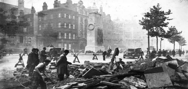 سبب قيام الحرب العالمية الثانية